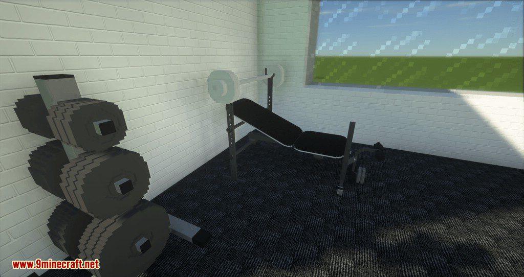GymCraft mod for minecraft 08