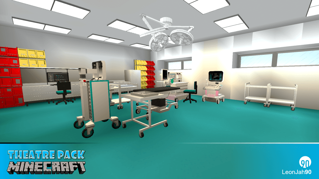 Hospital Mod – Theatre Pack mod for minecraft 22