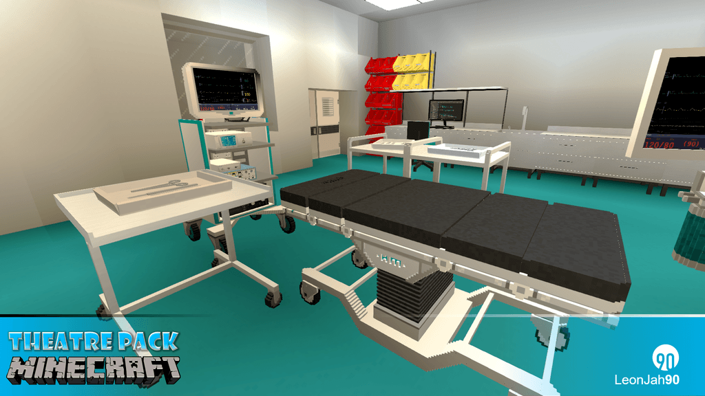 Hospital Mod – Theatre Pack mod for minecraft 24