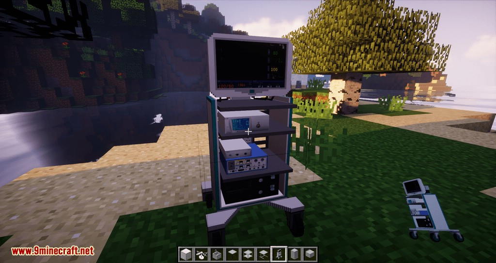 Hospital Mod – Theatre Pack mod for minecraft 06