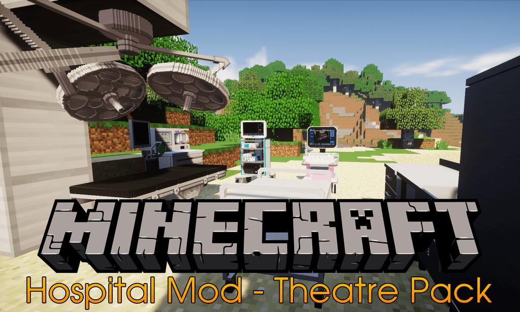 Hospital Mod – Theatre Pack mod for minecraft logo