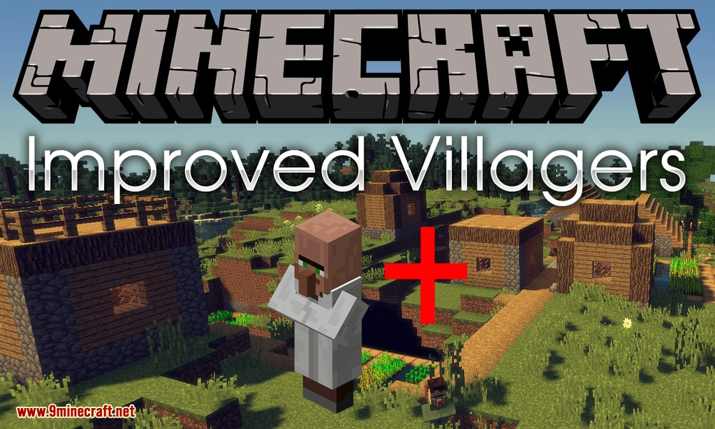 Improved Villagers mod for minecraft logo