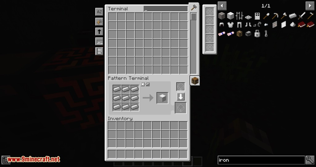 Just Enough Energistics mod for minecraft 07