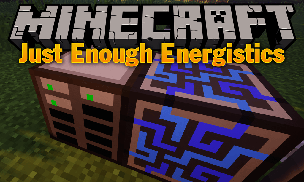 Just Enough Energistics mod for minecraft logo