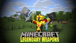 Legendary Weapons Mod for minecraft thumbnail