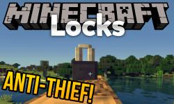 Locks mod for minecraft logo