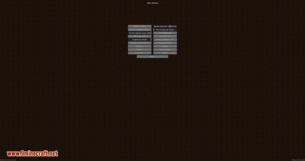 Main Menu Scale mod for minecraft 05