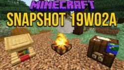 Minecraft 1.14 Snapshot 19w02a