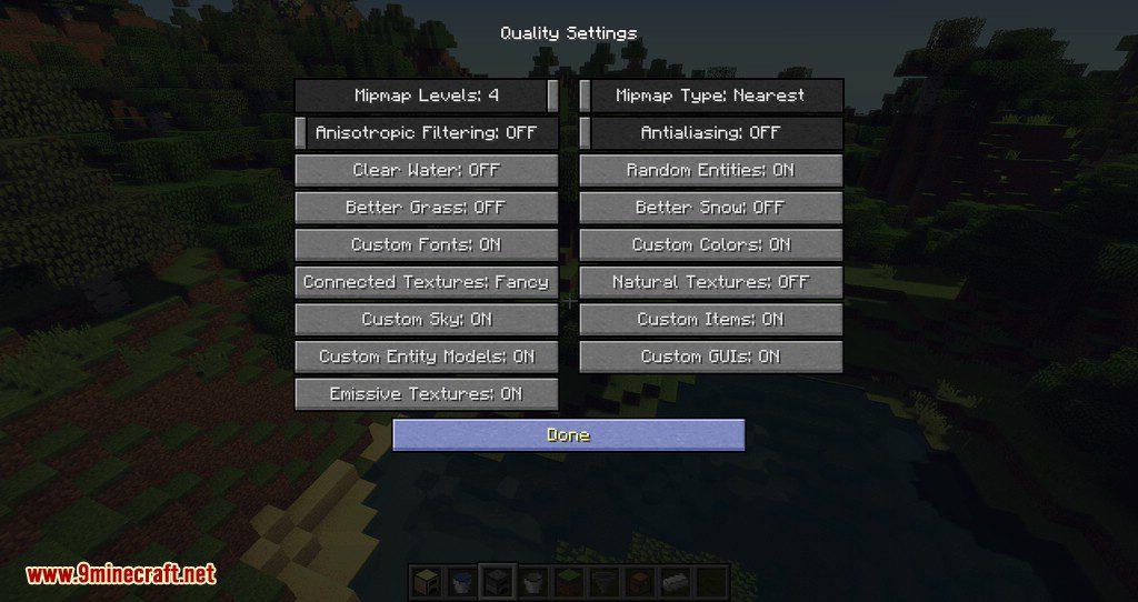 Non Update mod for minecraft 06