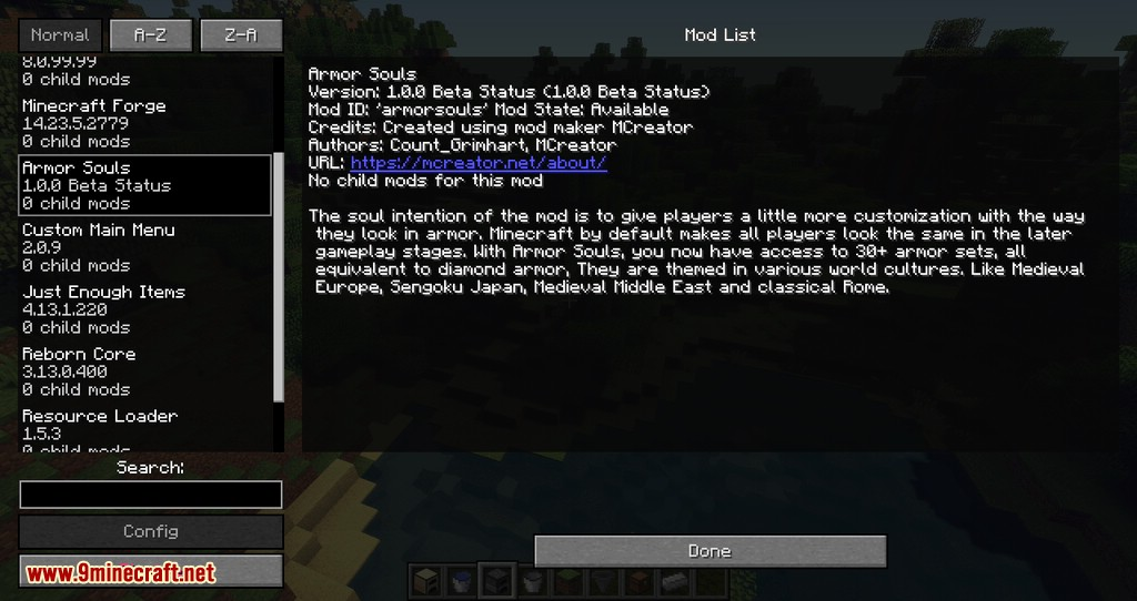 Non Update mod for minecraft 08