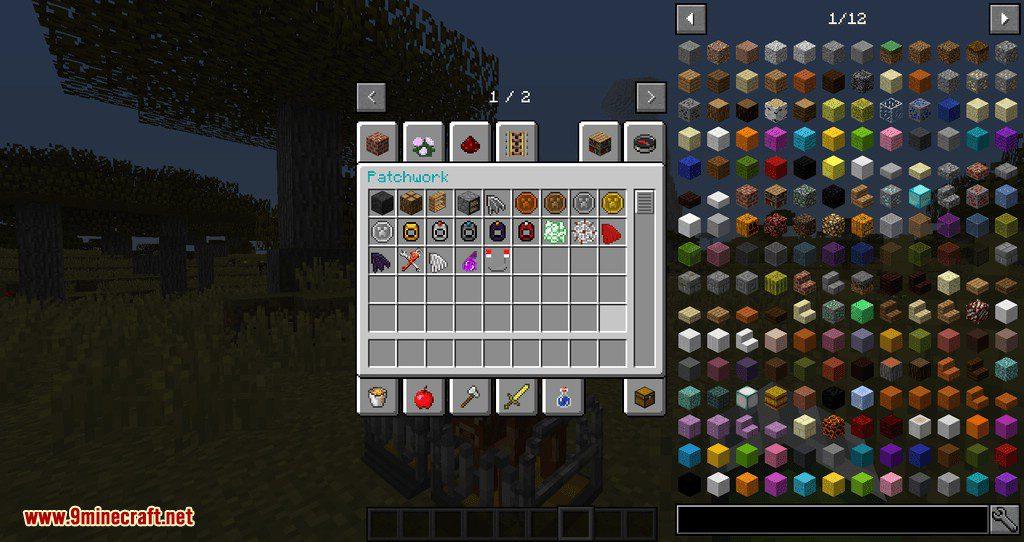 Patchwork mod for minecraft 01