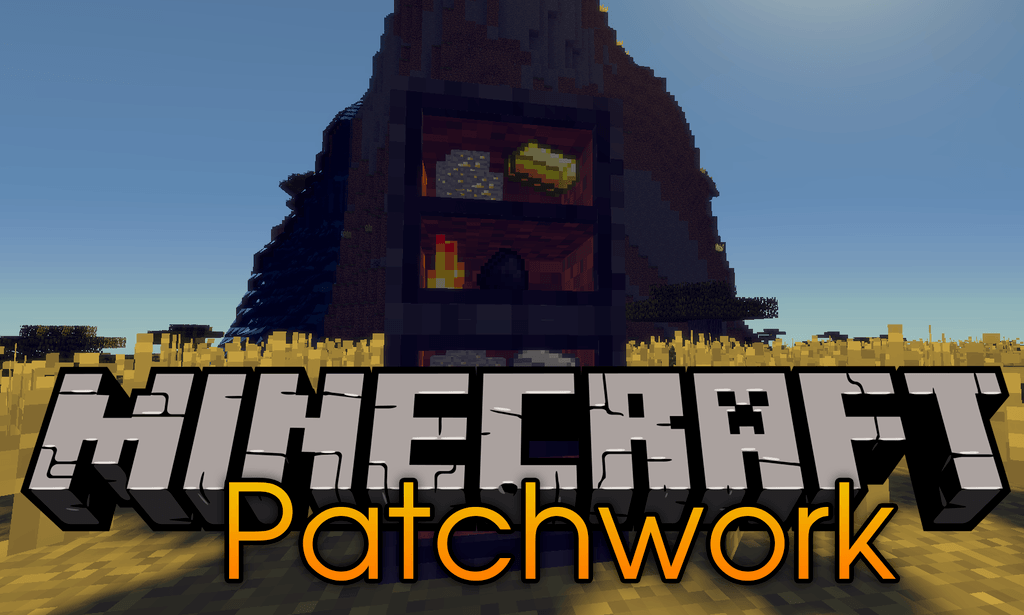 Patchwork mod for minecraft logo