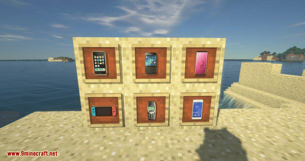 PhonesAlpha mod for minecraft 01