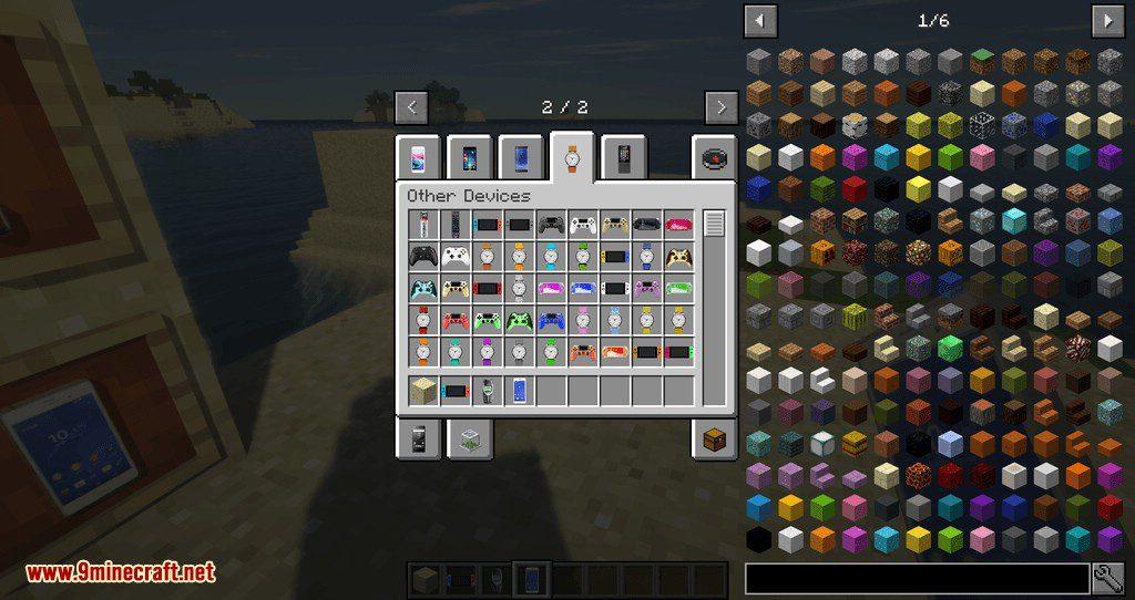 PhonesAlpha mod for minecraft 02