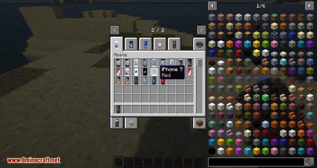 PhonesAlpha mod for minecraft 07
