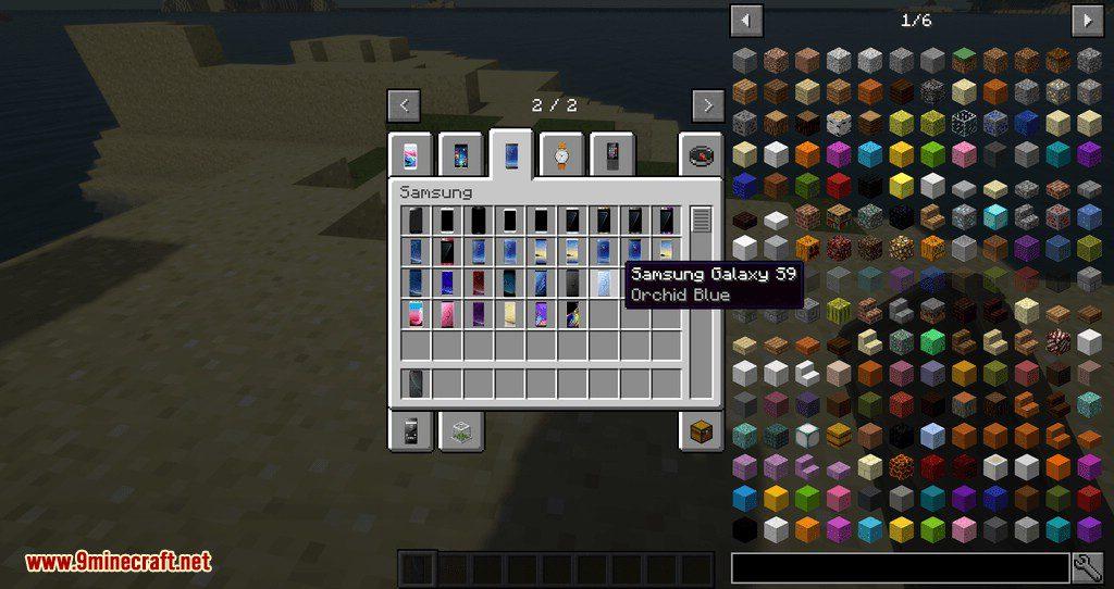 PhonesAlpha mod for minecraft 09