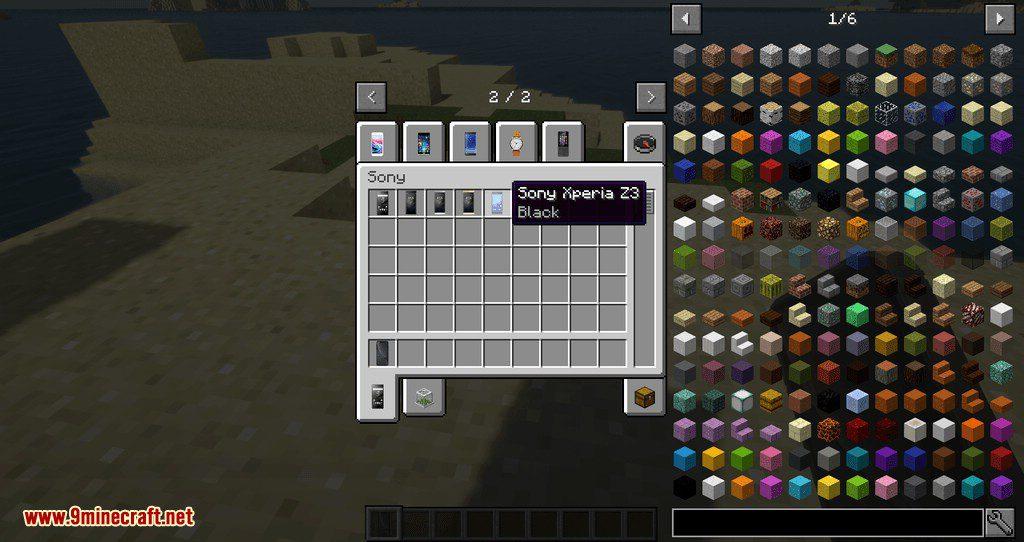PhonesAlpha mod for minecraft 12