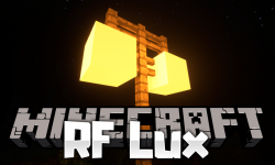 RF Lux mod for minecraft logo