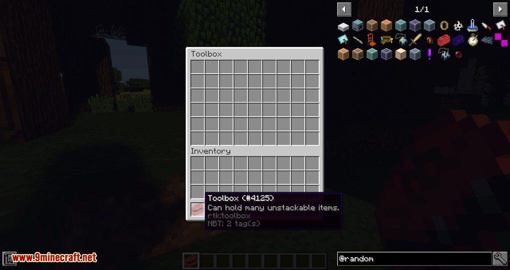 Random Tool Kit mod for minecraft 17