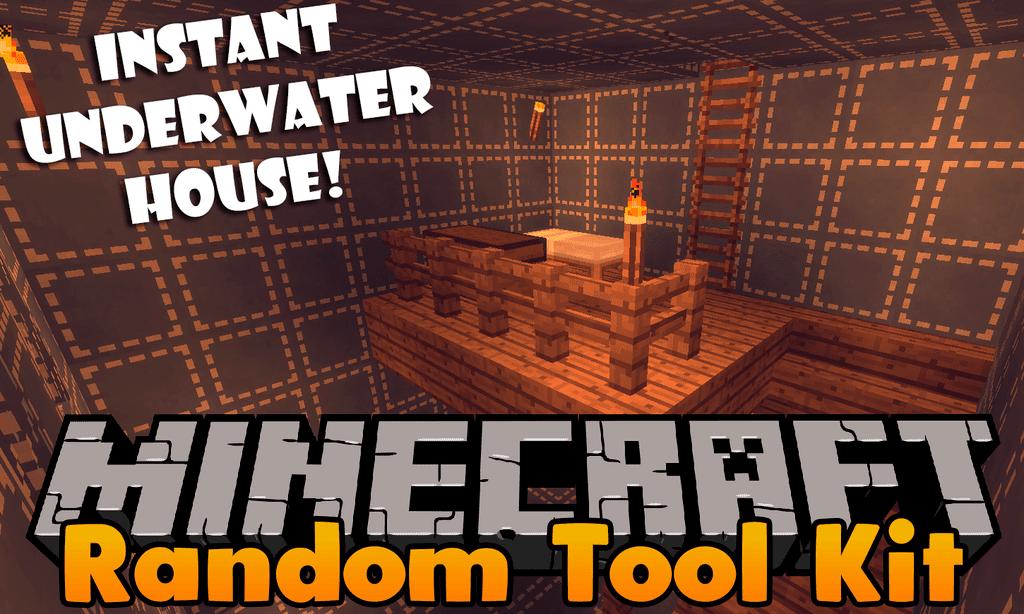 Random Tool Kit mod for minecraft logo