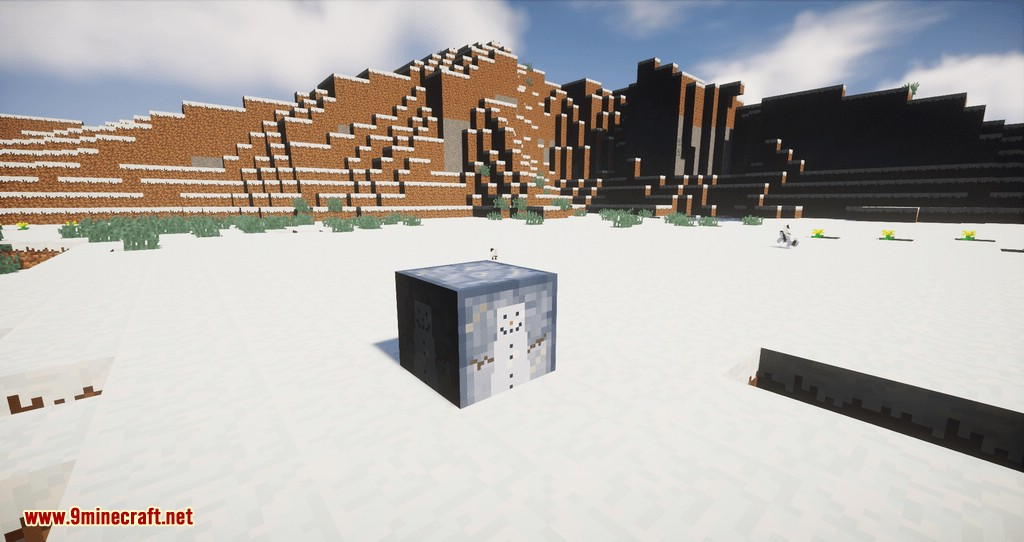Snowmancy mod for minecraft 02