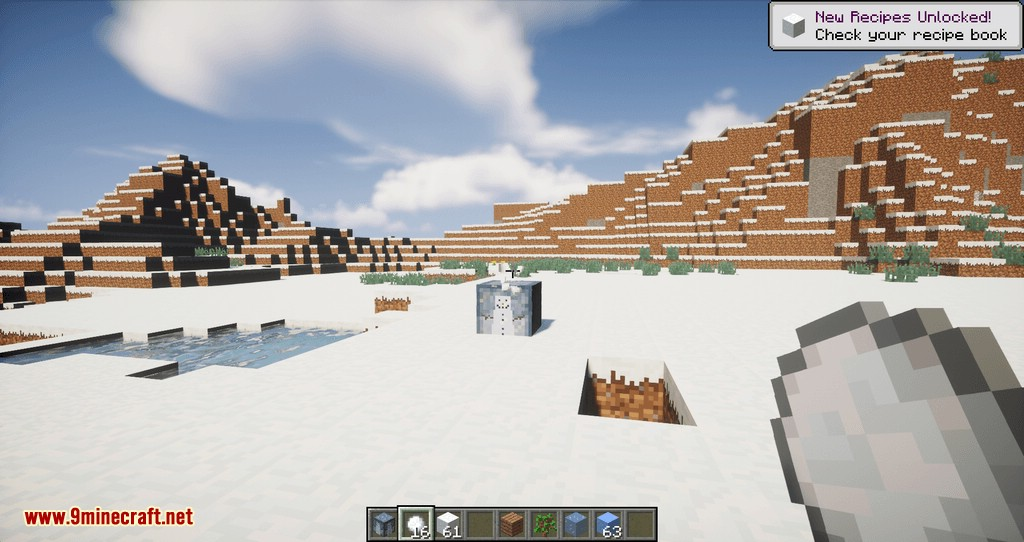 Snowmancy mod for minecraft 05