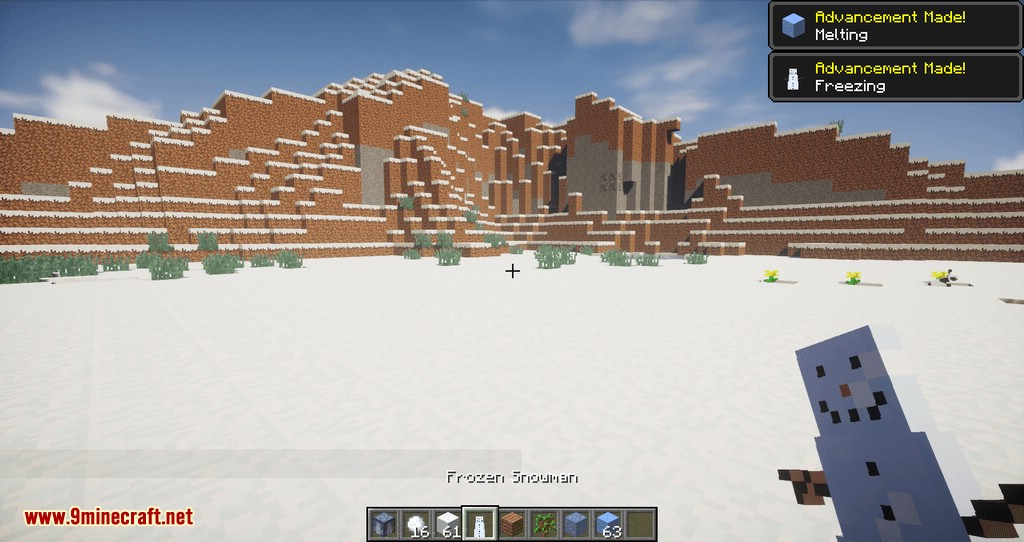 Snowmancy mod for minecraft 06
