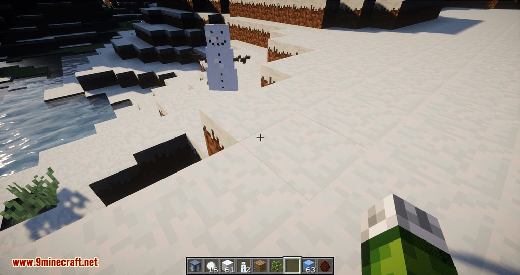 Snowmancy mod for minecraft 10
