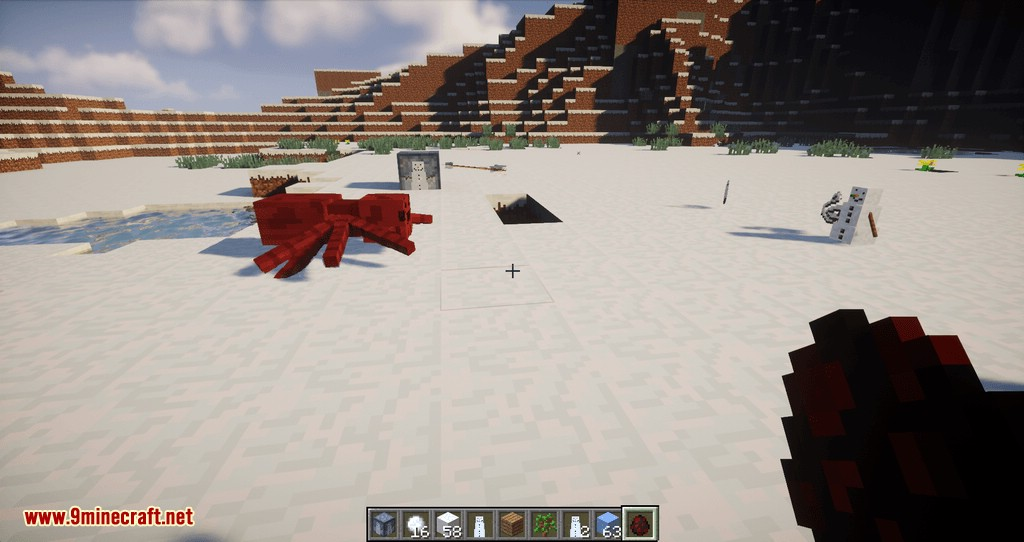 Snowmancy mod for minecraft 13