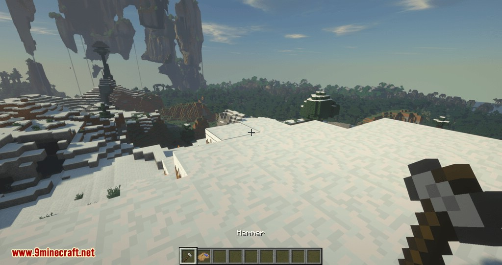 Statues Rechiseled mod for minecraft 01
