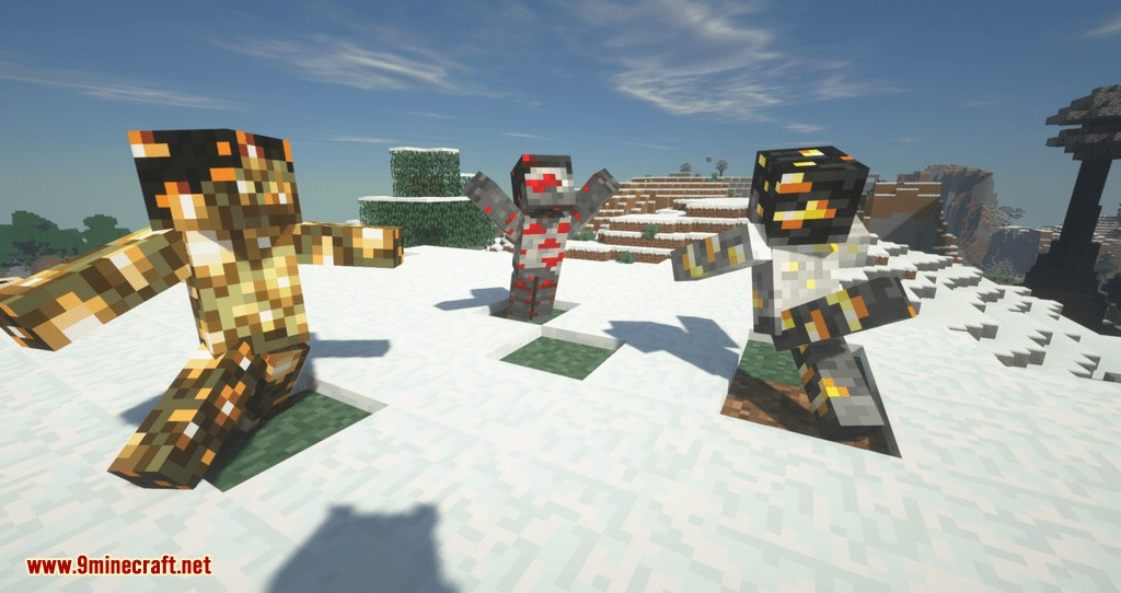 Statues Rechiseled mod for minecraft 06