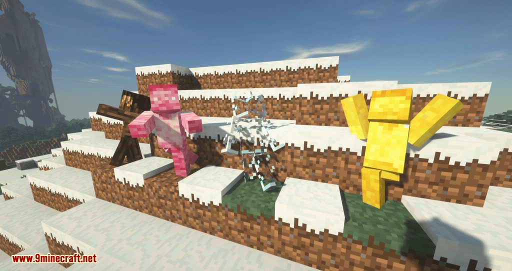 Statues Rechiseled mod for minecraft 11
