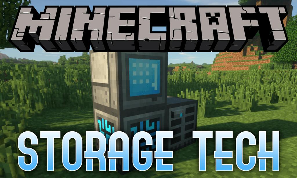 Storage Tech mod for minecraft logo