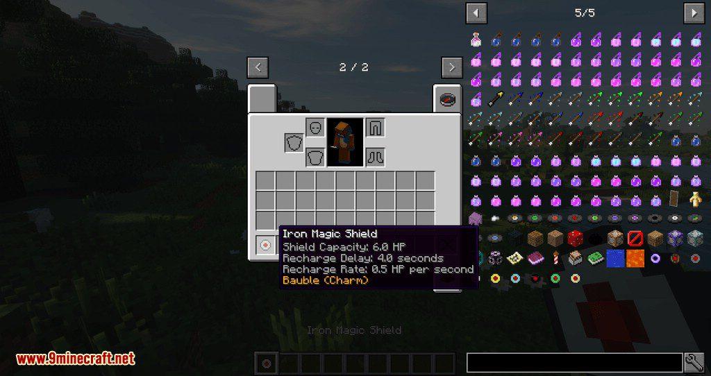 Superior Shields mod for minecraft 04