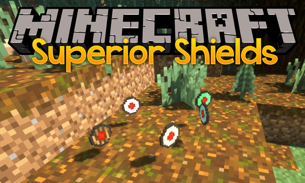 Superior Shields mod for minecraft logo