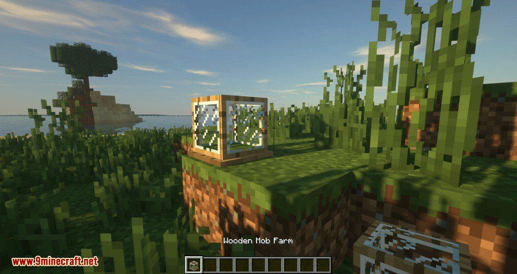 Tiny Mob Farm mod for minecraft 01