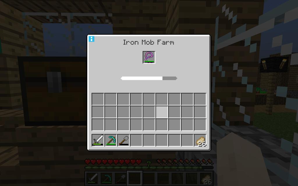 Tiny Mob Farm mod for minecraft 03