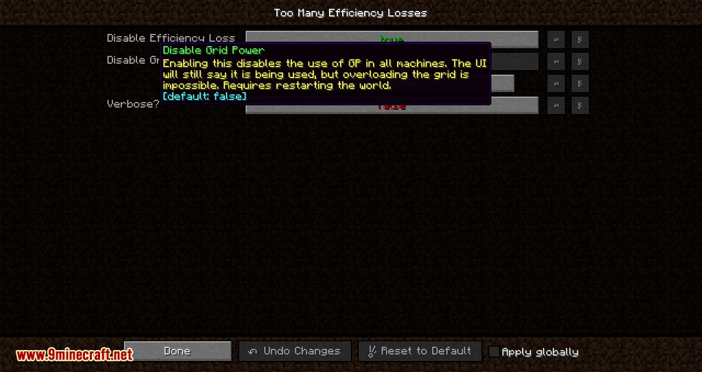 Too Many Efficiency Losses mod for minecraft 05