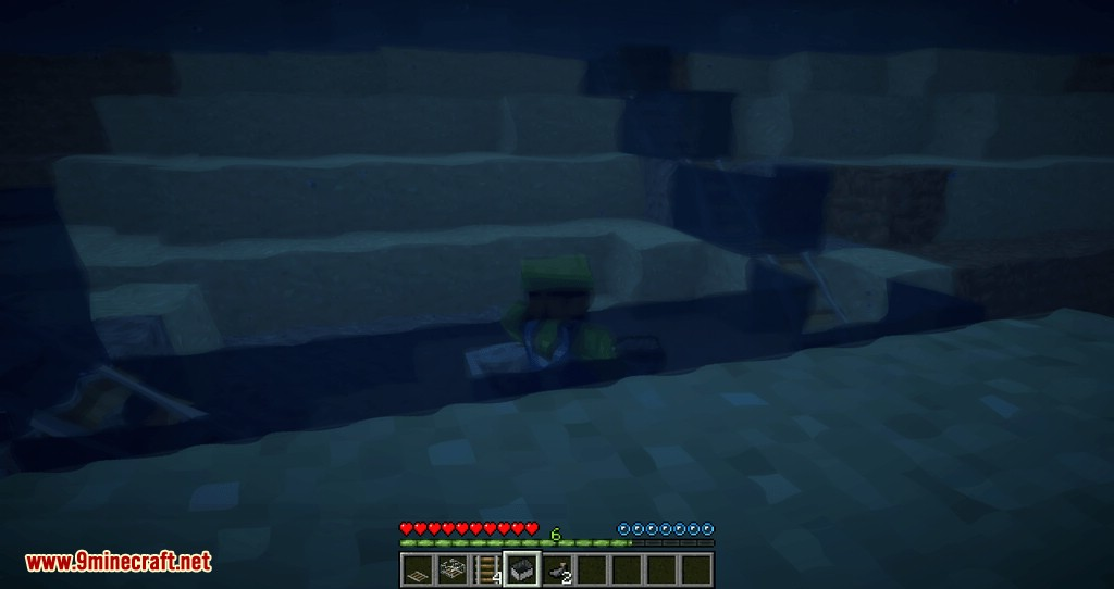 Underwater Rails mod for minecraft 06