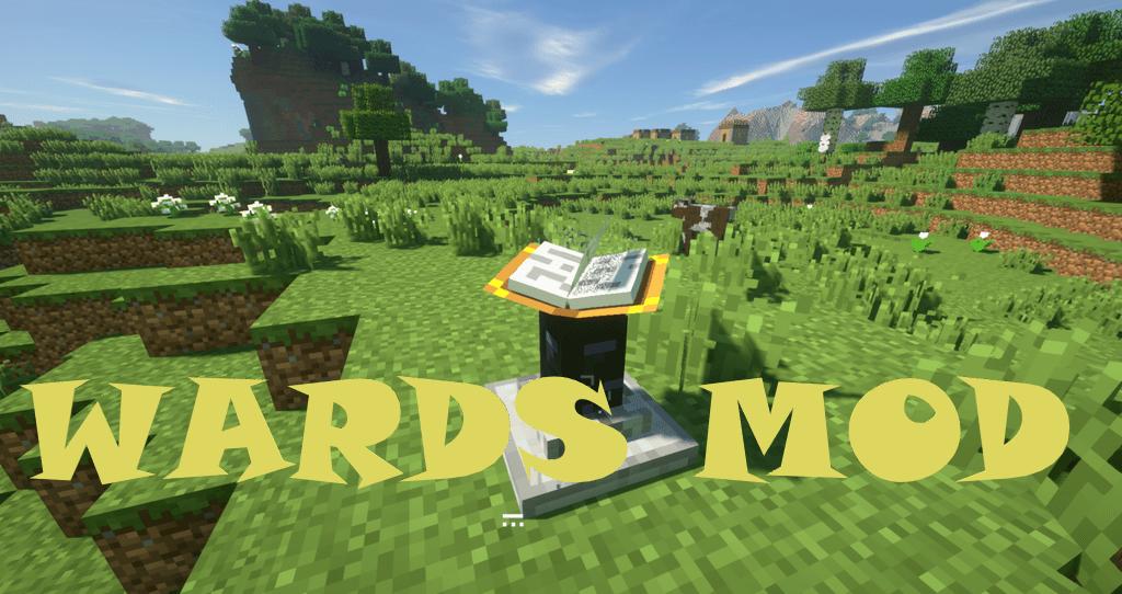 Wards Mod for Minecraft Logo