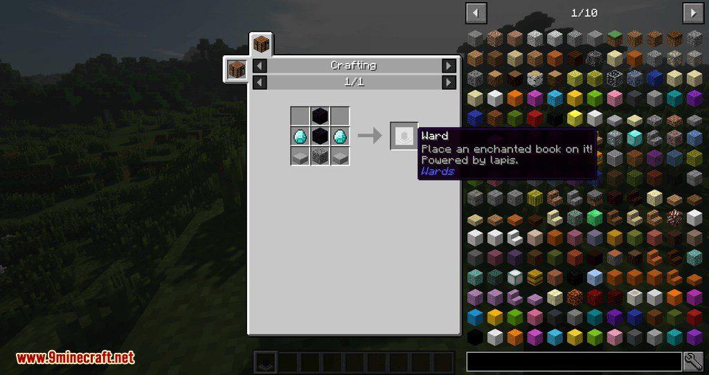 Wards mod for minecraft 02