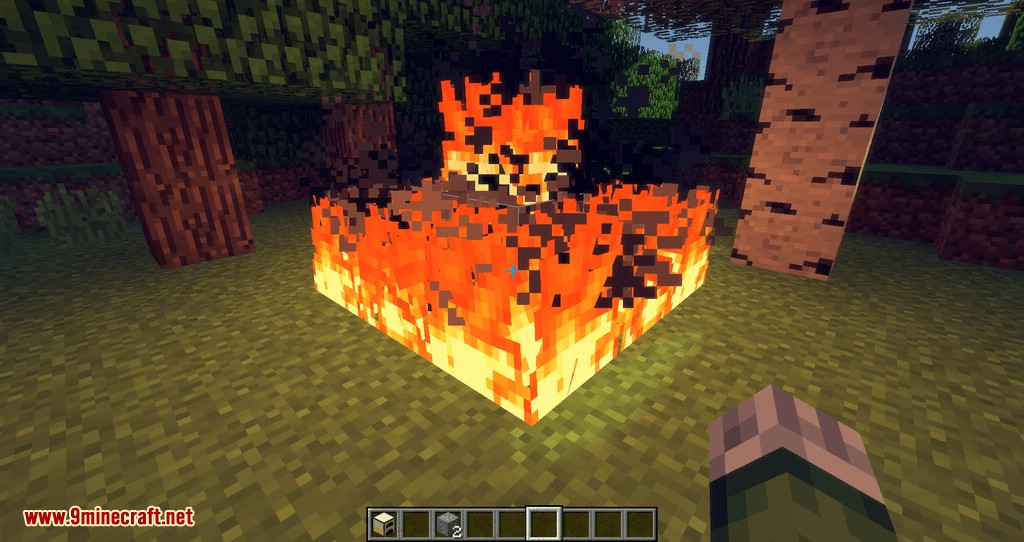 Wooden Furnace mod for minecraft 04