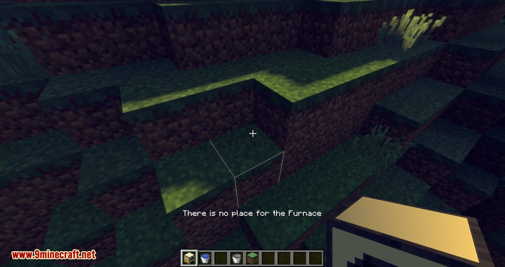 Wooden Furnace mod for minecraft 07