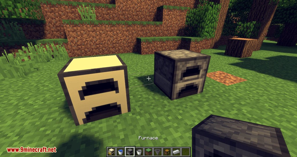 Wooden Furnace mod for minecraft 10