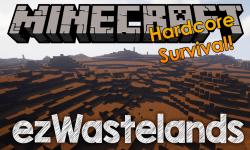 ezWastelands mod for minecraft logo