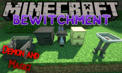 Bewitchment mod for minecraft logo