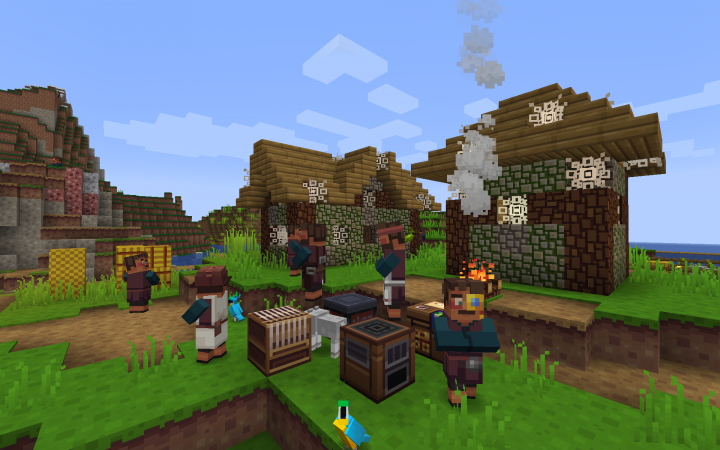 minecraft pe chinese house download
