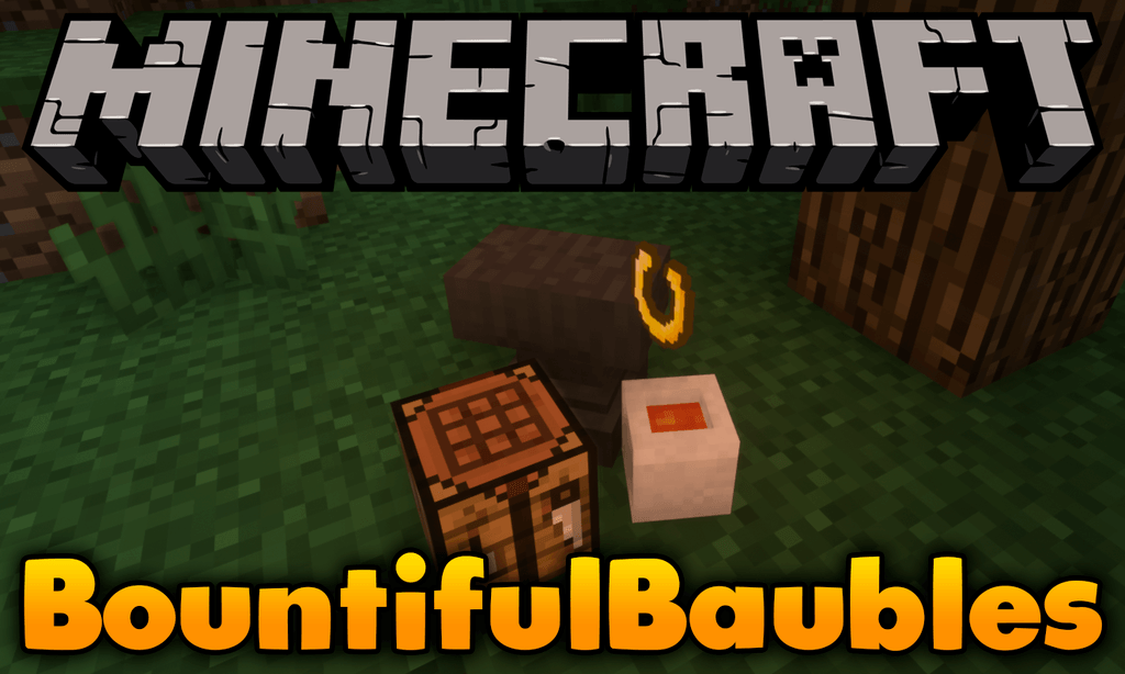 Bountiful Baubles mod for minecraft logo