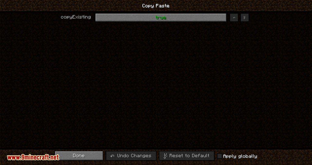 CopyPaste mod for minecraft 10