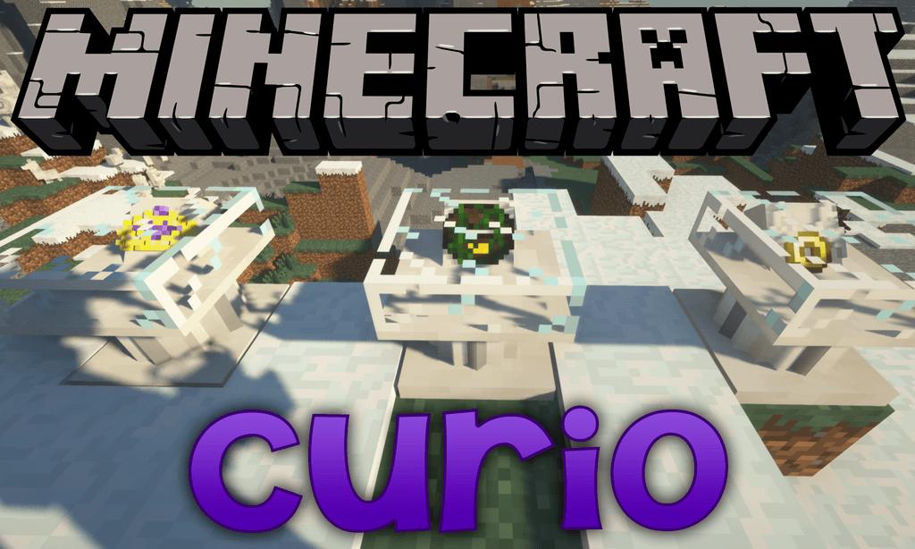 Curio mod for minecraft logo